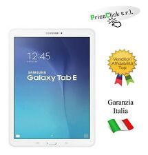 "SAMSUNG TABLET T560 GALAXY TAB E 9.6"" WIFI 8GB ITALIA WHITE"