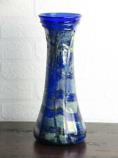 Special Vintage Vase Glass Design Gladden Submerged with Aventurine