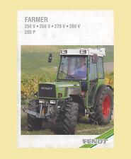 Fendt Farmer 250 V 260 V  270 V  260 P  270 P  280 P Schlepper Original 1999