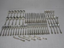 65 PCS REED & BARTON FRANCIS I STERLING SILVER FLATWARE ~ OLD MARK NO MONOGRAMS