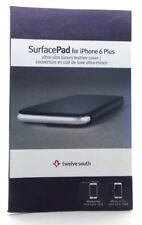 Twelve South SurfacePad Leather Wallet Folio Book Case iPhone 6 Plus & 6s Plus