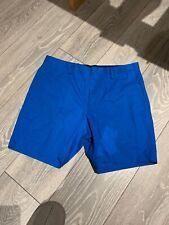 Marc Jacobs Men's Cobalt Blue Shorts Size 32