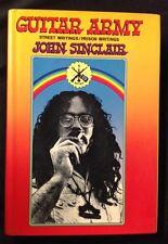 "1972 ""Guitar Army"" Street Writings/Prison Writings H/C Book John Sinclair signed"