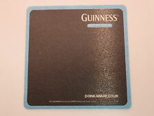 Beer Coaster: Guinness ~ Extra Cold ~ St. James's Gate Brewing ~ Dublin Ireland