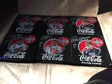 "2000 NASCAR BOBBLE HEAD ''THE COCA COLA RACING FAMILY"" SOLID CASE #'s 3459-3460"