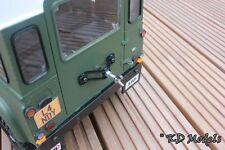 Sombrero personalizado o trasera de montaje de la rueda de repuesto para Gelande Crawler RC4WD D90 Landrover