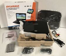 Sylvania SDVD1048-B-2 10.1-Inch Portable DVD Player, 5 Hour Rechargeable Battery
