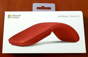 Microsoft Surface Arc Mouse ‑ Poppy Red  NEW