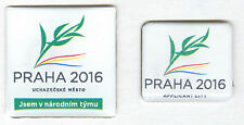 OLYMPIC BID PIN ISSUED BY CZECH REPUBLIC FOR EFFORT TO HOST 2016 OLYMPIC