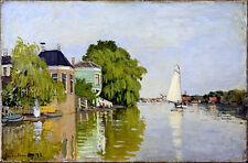 Claude Monet Achterzaan canvas print giclee 8X12&12X17 reproduction art poster