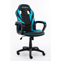 Home Office Racing GamingChair Swivel Leather Adjustable Desk Seat Hatsune Green