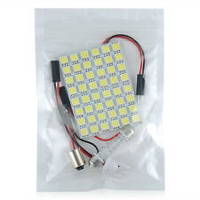 Car Interior White 48 SMD 5050 LED Light Lamp Panel T10 Festoon Dome 12V H