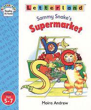 Letterland Reading At Home Stage 3 - Sammy Snake's Supermarket Moira Andrew 5-7