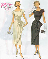 From UK Sewing Pattern Dress 1950's 14-22 #5880