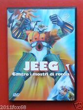 jeeg contro i mostri di roccia Jeeg Robot D'Acciaio DVD 2003 Rarissimo Usato