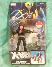 "WOLVERINE (jacket)w/ Sentinel attack 2004 X-Men classics Marvel Legends 6""Figure"