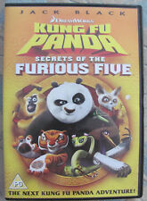 KUNG FU PANDA SECRETS OF THE FURIOUS FIVE DVD - DREAMWORKS - PG - NEW
