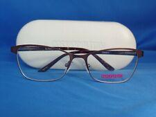 New Women's Cosmopolitan Eyeglass Frame Zoe Brown Metal 53-16-140