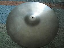 "14"" Vintage Vibra Zanchi Made in Italy Light HiHat or Crash Cymbal Hi Hat 850g"