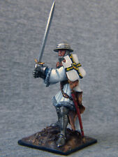 Teutonic knight with sword. Elite tin soldiers 54 mm. St. Petersburg