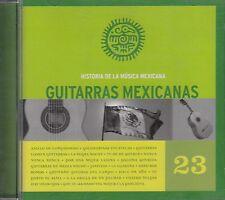 Historia De La Musica Mexicana Guitarras Mexicanas Vol 23 CD No Plastic Seal