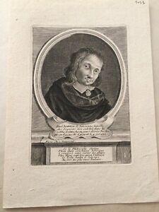 Portrait XVIIeme de Paul SCARRON, écrivain.