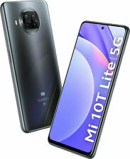 Xiaomi Mi 10T Lite 5G 128GB 6GB Ohne Simlock Pearl Gray Grau Dual Sim NEU