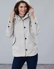 Joules Womens Coast Waterproof Coat - IVORY Size 20