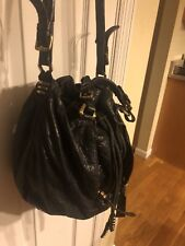 OrYany  Gwen Distressed Pebbled Leather Basket  Bag Bronze Hardware