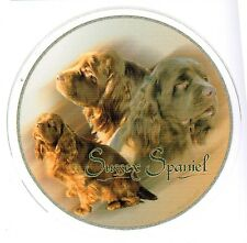 Design Aufkleber Sussex Spaniel 15cm Autoaufkleber Sticker