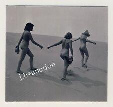 Nude in the dunes/nu dans les dunes ver * vintage 50s serge Jacques photo