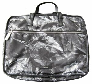 Paul Smith PS Crumpled Paper Holdall Folio Bag