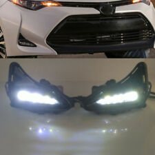 LED DRL for Toyota Corolla Sedan 2017 2018 2019 Daytime Running Light Fog Lamp