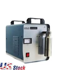 110V H160 Oxygen Hydrogen Flame Generator Acrylic Polishing Machine +1 Gas Torch