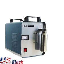 110V H160 Oxygen Hydrogen Flame Generator Acrylic Polishing Machine +1 Gas Torch
