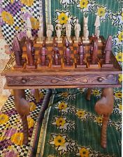 Antique Hand Made Chess Table