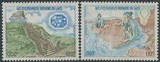 LAOS N°273/274** Minéraux Richesses minières, TB, 1975, Minerals Set MNH