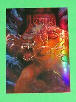 1996 STAR WARS TOPPS FINEST GOLD PARALLEL REFRACTOR #78 RANCOR! HOLOFOIL CHROME!