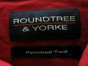 LOT OF 6 ROUNDTREE@YORK DRESS SHIRTS  4XLT   #130