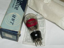 VERY RARE VINTAGE BALLOON SHAPED MARCONI P2 TRIODE NOS VALVE TUBE