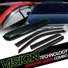 For 03-09 Toyota 4Runner Sun Rain Wind Window Visors+Moonroof Roof Deflector 5PC