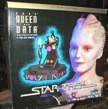 "Star Trek Data & Borg Queen Ultra 6"" Statue/Diorama -FREE S&H (STTY-65030)"