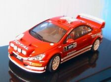PEUGEOT 307 WRC #7 DEUTSCHLAND RALLY 2005 AUTOART 60556 1/43 ROT GRONHOLM