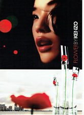 PUBLICITE ADVERTISING 016  2007  Kenzo  parfum Flower femme