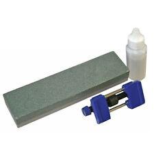 Faithfull FAIOS8CHG Oilstone 200mm and Honing Guide Kit