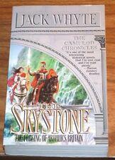 JACK WHYTE The Skystone *FINE L/N* 1st print KING ARTHUR Camulod Chronicles #1