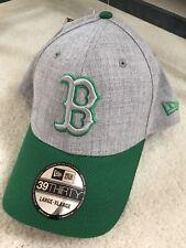 NWT New Era 39Thirty Boston Red Sox Change Up Redux Gray/Green Flex Cap Large-XL