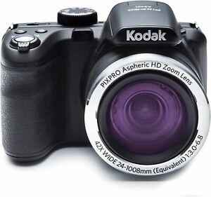 Kodak PIXPRO Astro Zoom AZ421-BK 16MP Digital Camera with 42X Optical Zoom and 3
