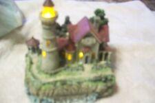 Thomas Kinkade Light House - Lights Up - Very Nice