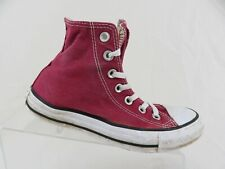 CONVERSE Chuck Taylor All-Star Maroon Sz 6 Women High-Top Skateboarding Shoes